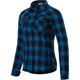 Protective P-Rockabilly Longsleeve Shirt Women, dark blue